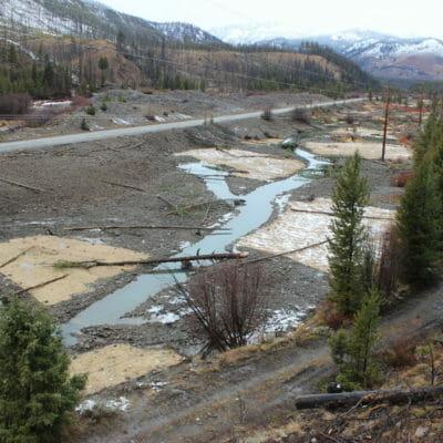 Yankee Fork Side Channel Habitat Improvement