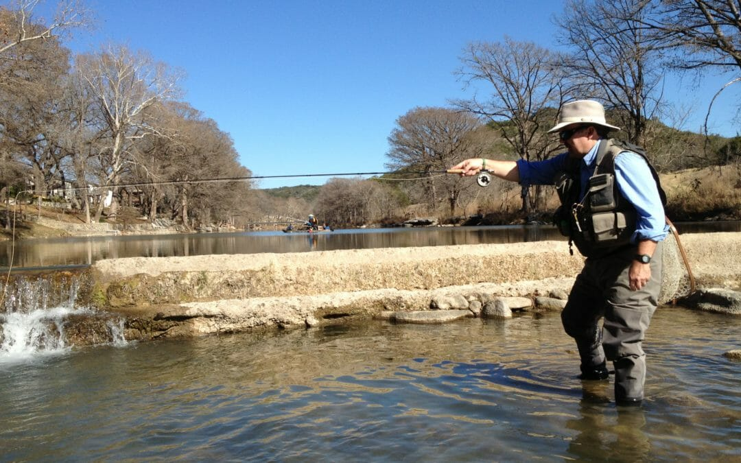 Trout in the Texas Hill Country