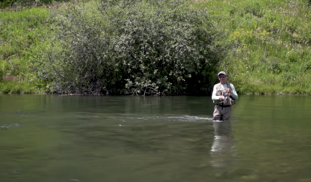 How to fish a dry fly downstream