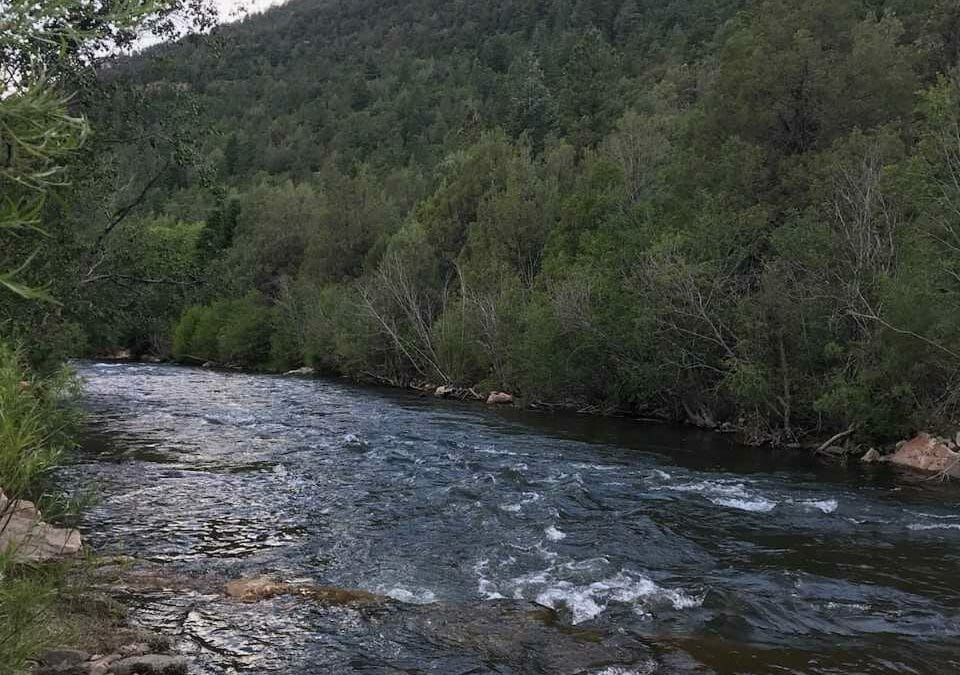 The Pecos is fishing great … for now