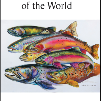 The cover of Trout and Char of the World.