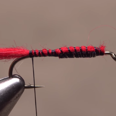 Tying the Woolly Worm.