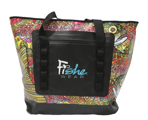 FisheWear Wedge Tote