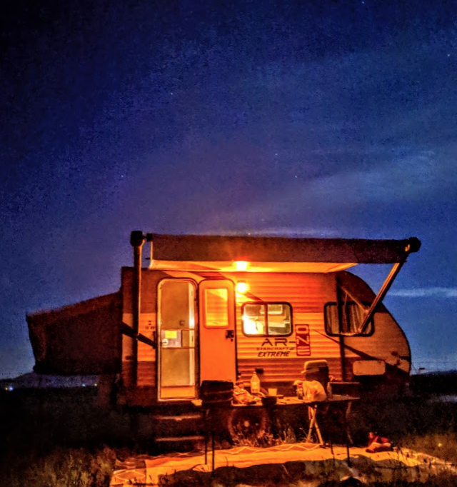An AR-One Extreme parked in the southern Idaho desert.