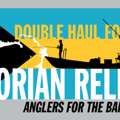 Logo for the Double Haul For Dorian Relief