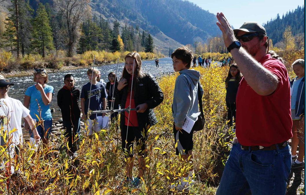 Students Adopt-A-Trout to Learn Science