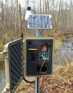 Mayfly water-quality logger
