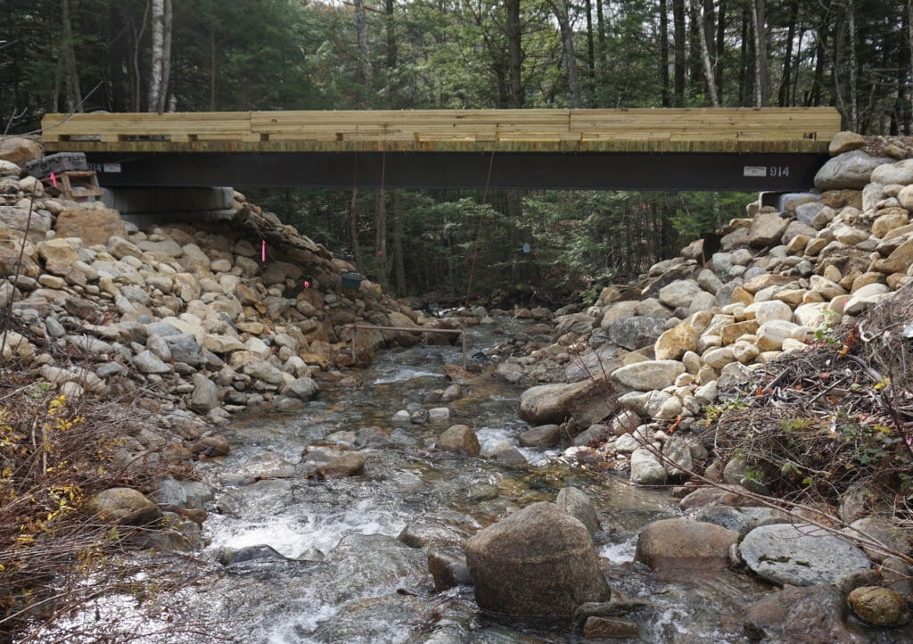 TU volunteers have spent more than 800 hours to survey 500 road/stream crossings in New Hampshire.