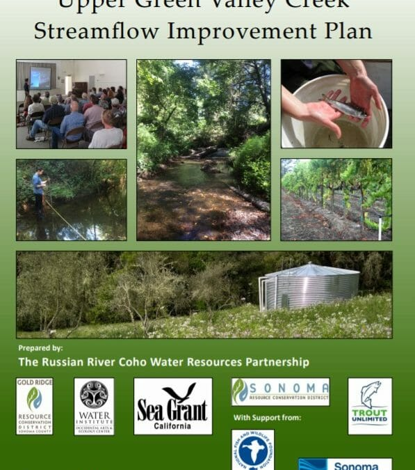 New Streamflow Improvement Plan helps coho in key Russian River tributary