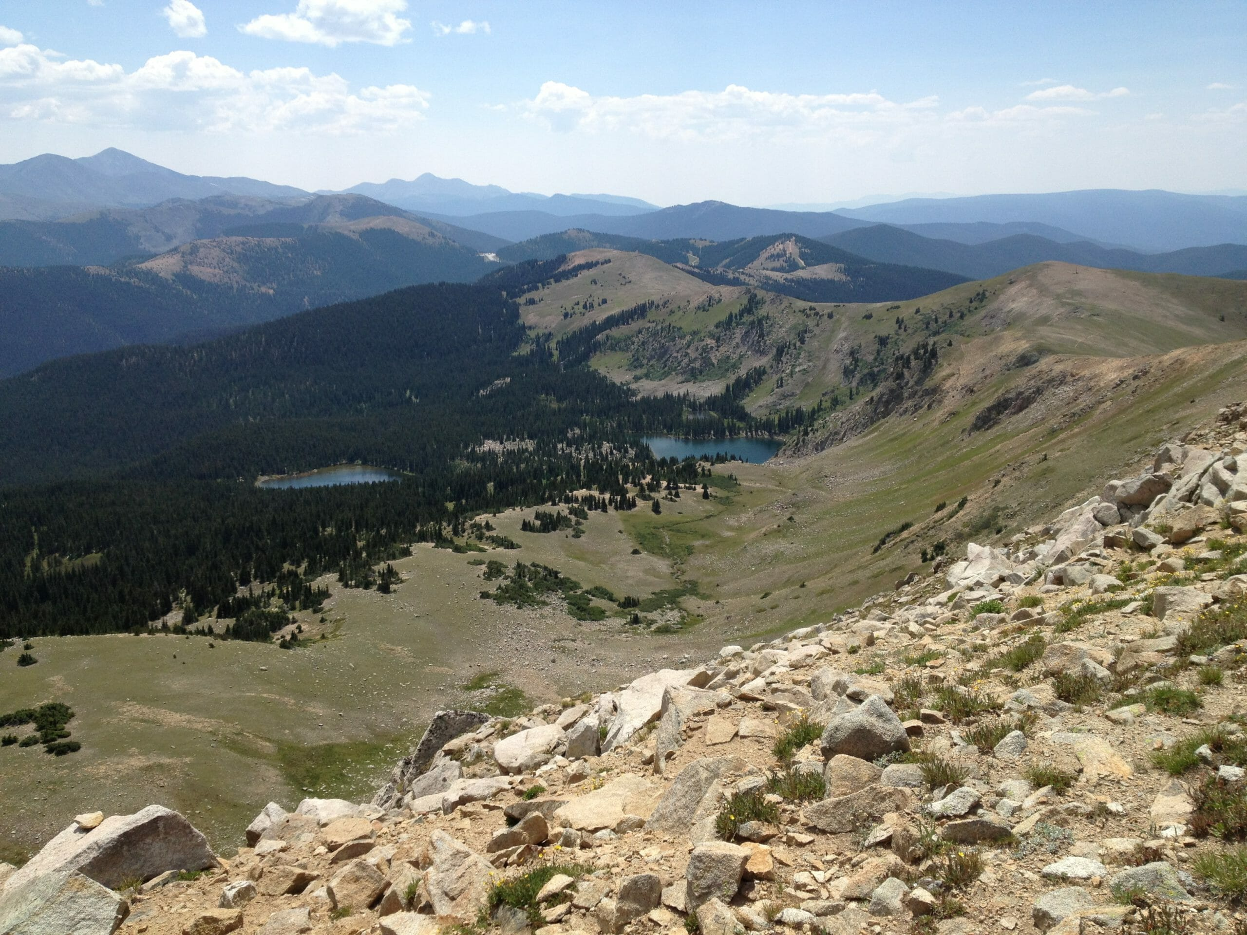 Monarch Pass in the distance.