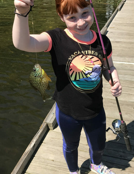 Take a child fishing and make a difference