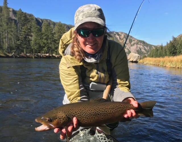 Fishing with Riverside Anglers in West Yellowstone, Mont.