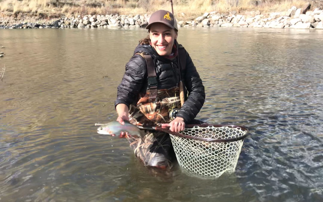 Rose is at the ready for Wyoming anglers, hunters