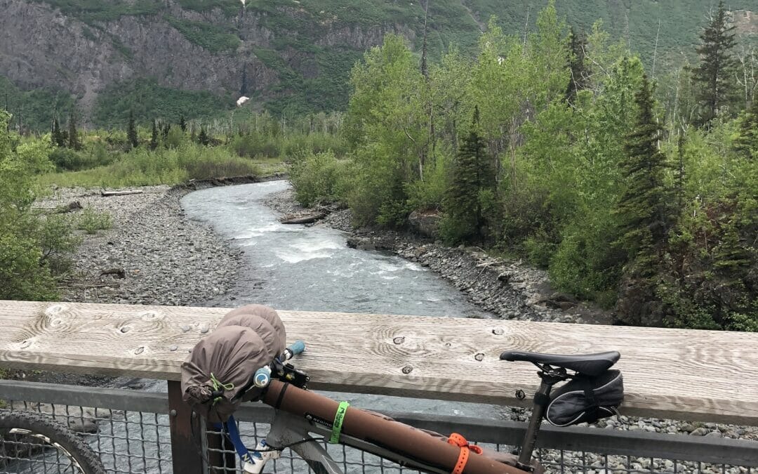 Cycling to the source of the Eklutna