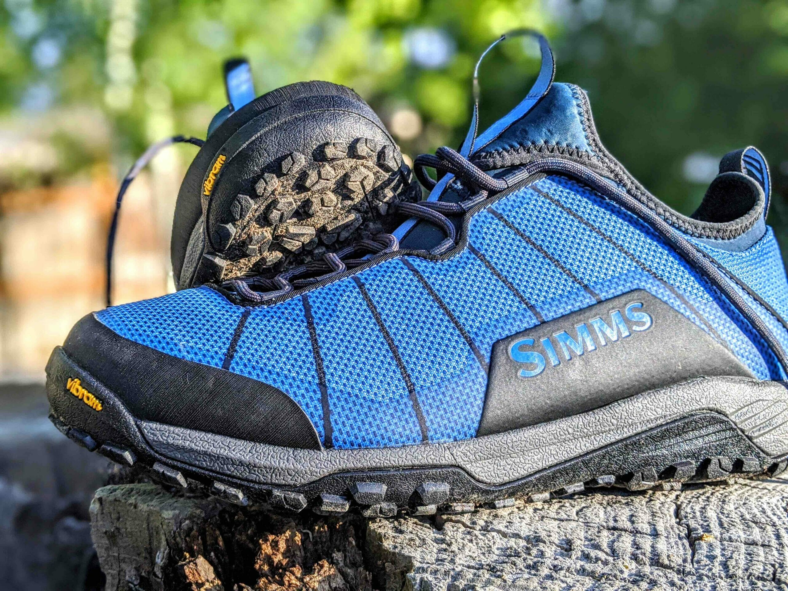 Simms Flyweight wading shoes | Trout
