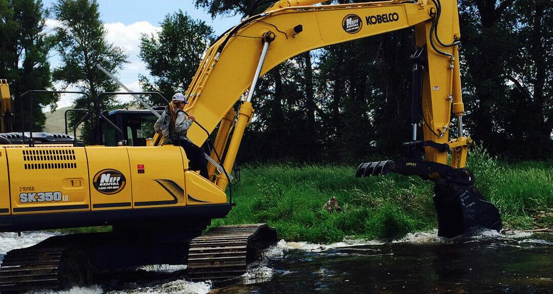 Clint Packo's Freestone Aquatics tackles stream restoration in Colorado