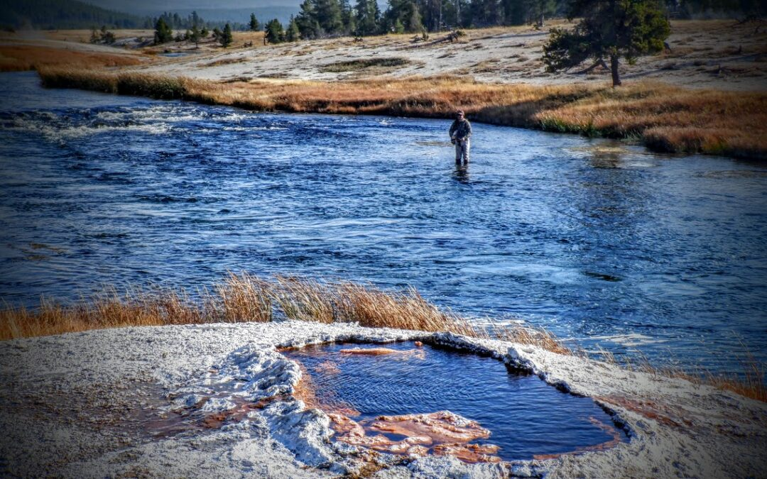 A day on Yellowstone's storied Firehole River