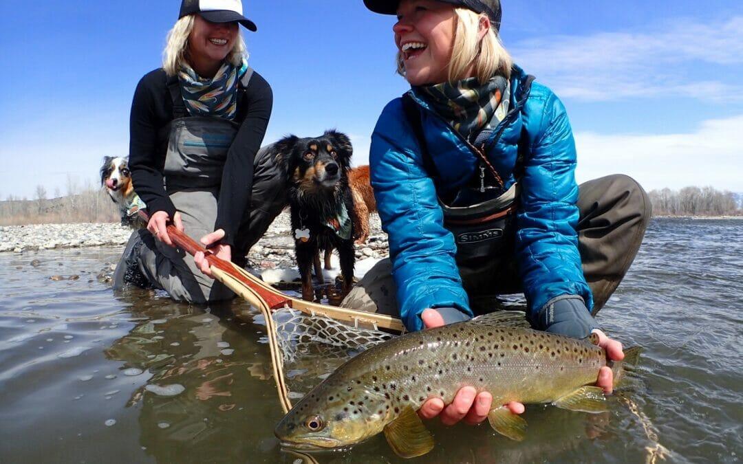 Damsel Fly Fishing brings women to fly fishing fun