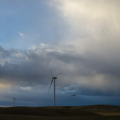 A windmill in Idaho.