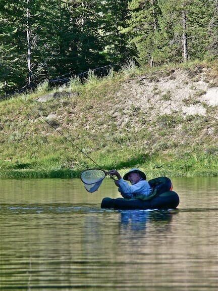 Finding 'lake mode' out of angling necessity