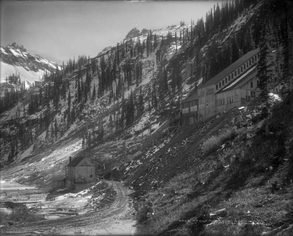 An old abandoned mine in Colorado