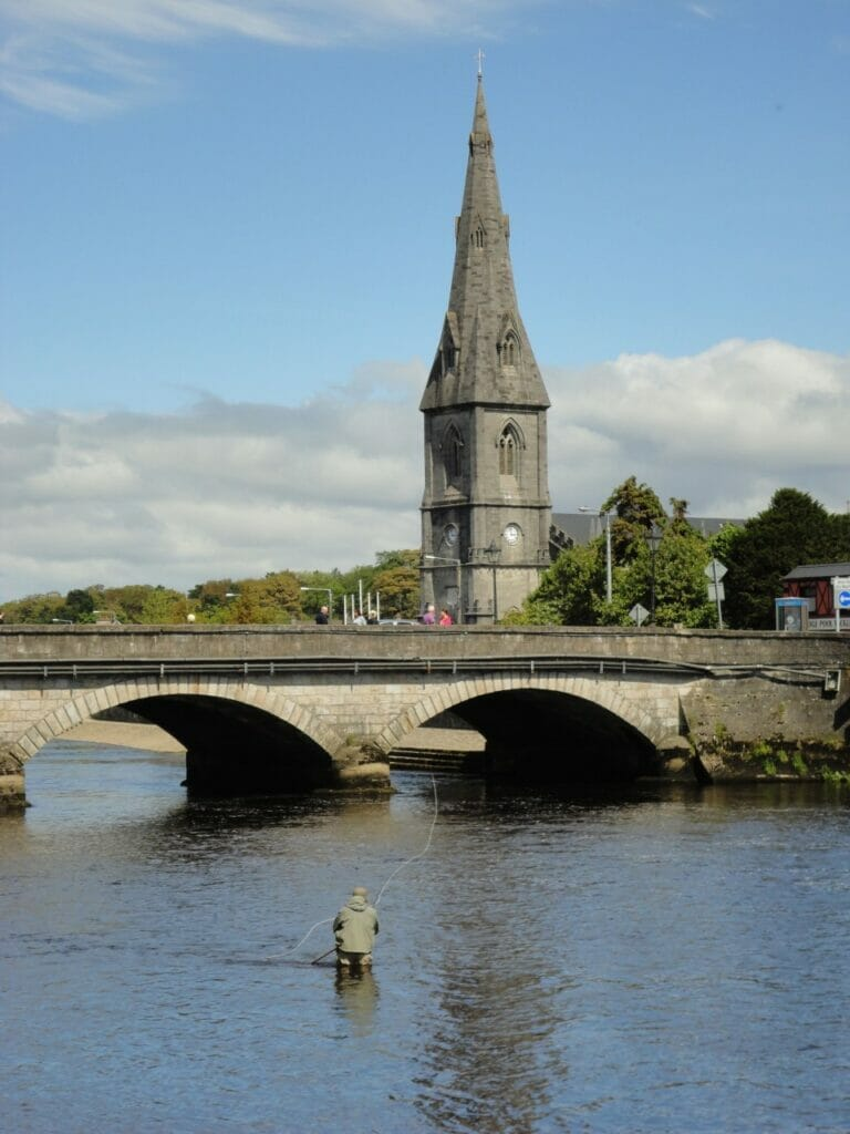 River Moy, Ireland.